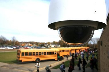 School Parking Lot Video Monitoring | Security Solutions Inc. | Bozeman, MT
